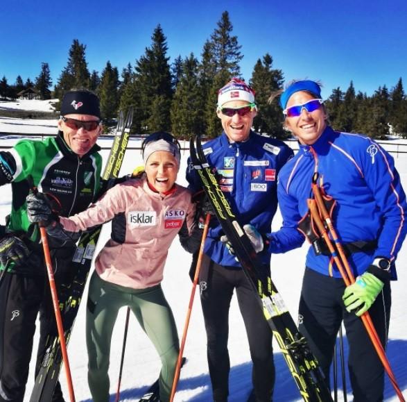 Video of Therese Johaug Training in Sjusjøen Appears Online